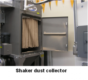 shaker-dust-collector