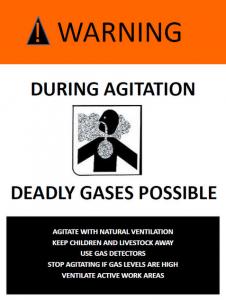manure gas danger