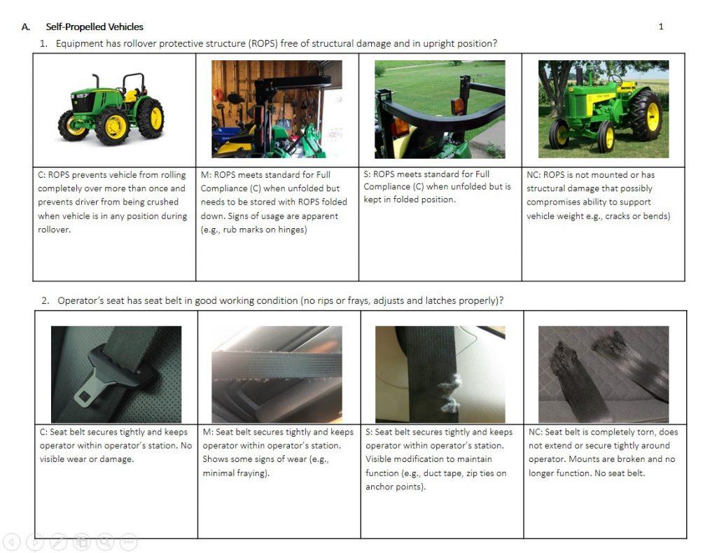 Hazard Assessment Checklist Field Guide